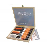 Набор карандашей для рисунка 25 пред., дерево, Passion Box, Cretacolor