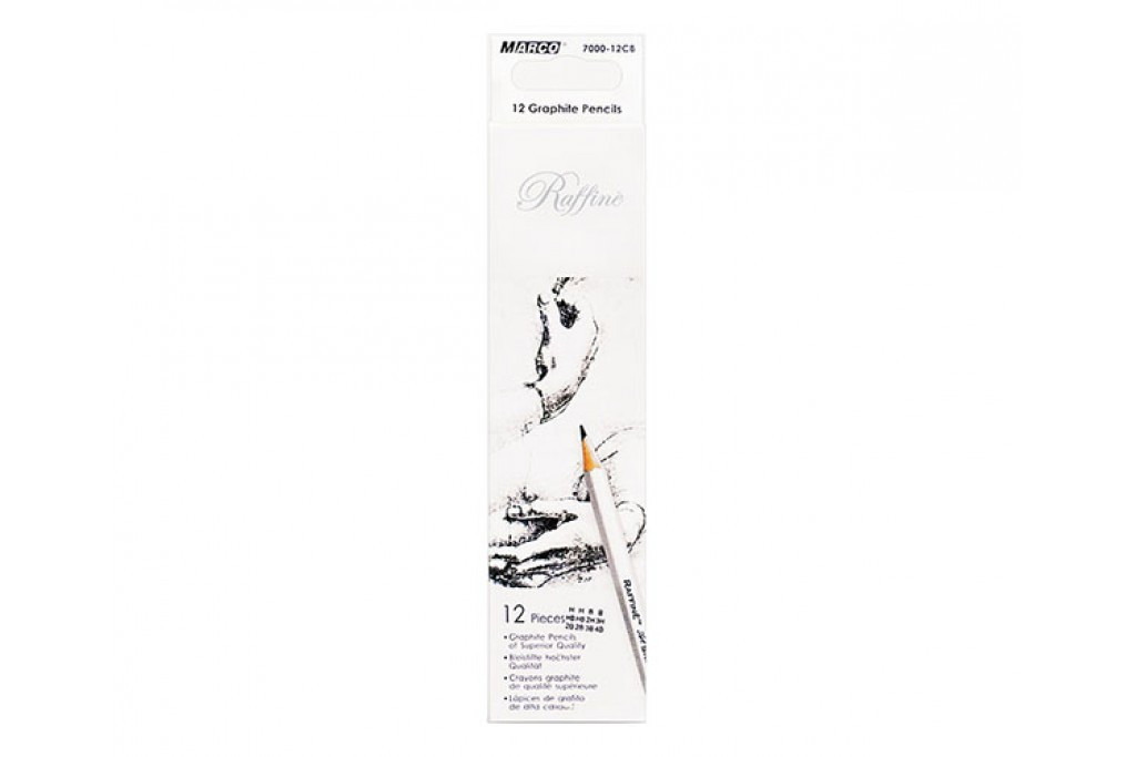 Набор графитных карандашей Marco Raffine 12 шт