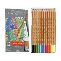 Набор пастельных карандашей 12цв., метал, Fine Art Pastel, Cretacolor