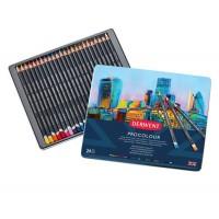 Набор цветных карандашей Derwent Procolour 24цв. метал