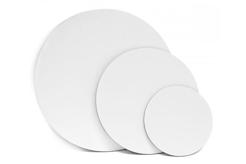 Холст на картоне круглый Rosa хлопок акриловый грунт диаметр 20 см (GPA183D20)