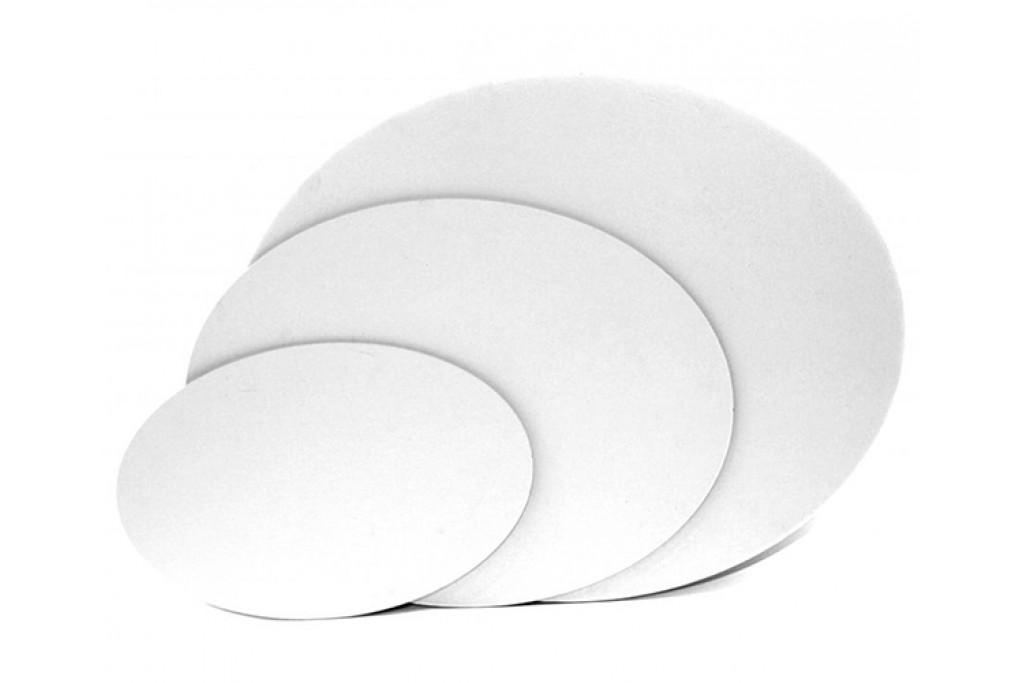 Холст на картоне овальный Rosa хлопок акриловый грунт 40 х 50 см (GPA183D4050)