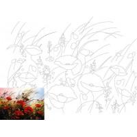 Холст на картоне Rosa с контуром Пейзаж № 9 30 x 40 см