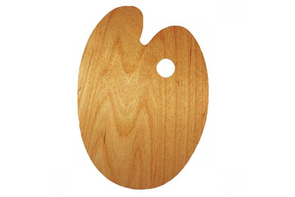 Палитра Rosa деревянная овальная 30х40 см (94160205)