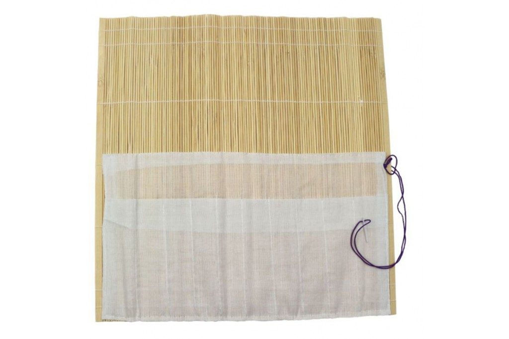 Пенал для кистей бамбук 36х36 см