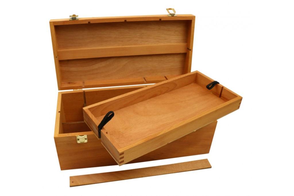Пенал деревянный 40х20х15 см