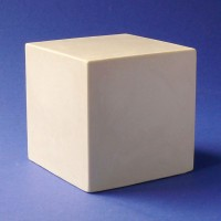 Гипсовая модель Куб 7х7см