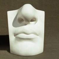 Гипсовая модель Губы и нос Давида 24 см 2,2 кг (АР-374)