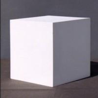 Гипсовая модель Куб 12,5 см 1,3 кг (АР-100-1)