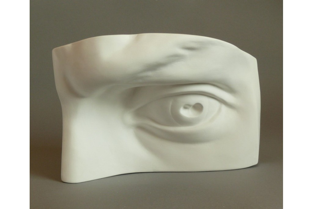 Гипсовая модель Глаз Давида 19х15х15 см