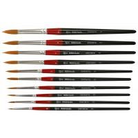 Кисть синтетика круглая Rosa Studio 111 короткая ручка