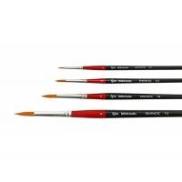 Кисть синтетика круглая Rosa Studio 112 длинная ручка