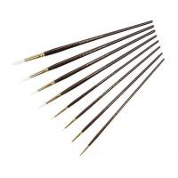 Кисть синтетика круглая Kolos Snow 1098R длинная ручка