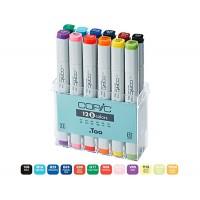 Набор двухсторонних маркеров Copic Ciao Set 12 цветов