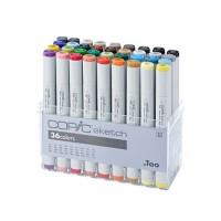 Набор двухсторонних маркеров Copic Sketch Basic Set 36 цветов