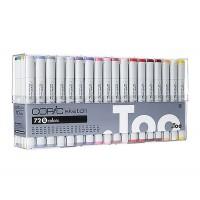 Набор двухсторонних маркеров Copic Sketch Set B 72 цвета