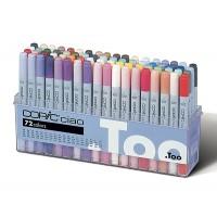 Набор двухсторонних маркеров Copic Ciao Set 72 цвета