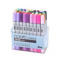 Набор двухсторонних маркеров Copic Ciao Set A 36 цветов
