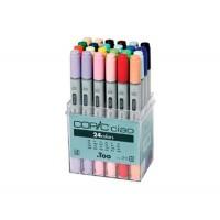 Набор двухсторонних маркеров Copic Ciao Set 24 цвета