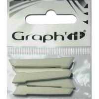 Набор наконечников для маркеров Graph it широкие 6 шт