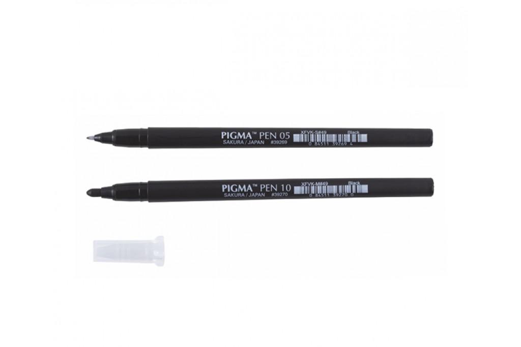 Лайнер Sakura Pigma Pen Черный