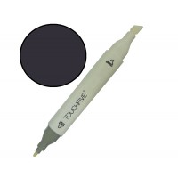 Маркер двусторонний TouchFive Black Черный №120