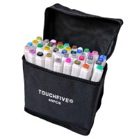 Набор маркеров двусторонних TouchFive 40 цветов (touch40-ch)