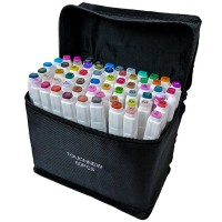 Набор маркеров двусторонних TouchFive 60 цветов (touch60-ch)