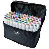 Набор маркеров двусторонних TouchFive 80 цветов (touch80-ch)
