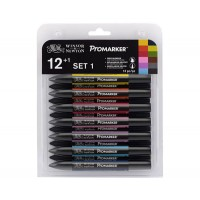 Набор маркеров, Promarker, Set 1, 12 шт, Winsor Newton