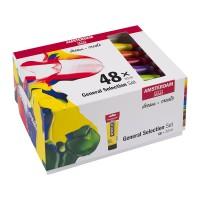 Набор акриловых красок Amsterdam Standart General Set 48цв.х20мл