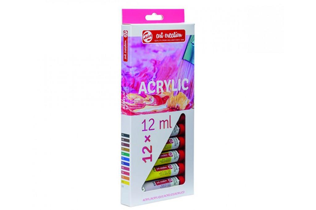 Набор акриловых матовых красок Royal Talens ArtCreation 12 цветов по 12 мл