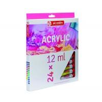 Набор акриловых красок ArtCreation 24цв.х12мл