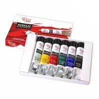 Набор акриловых красок Rosa Studio 6цв.х20мл