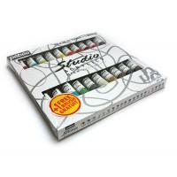 Набор красок акриловых Pebeo Studio 20цв.х20мл + кисть