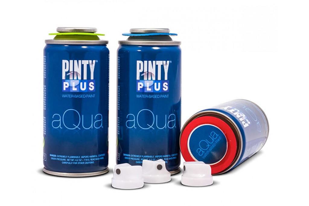 Краска аэрозоль акриловая Pinty Plus Aqua 150 мл