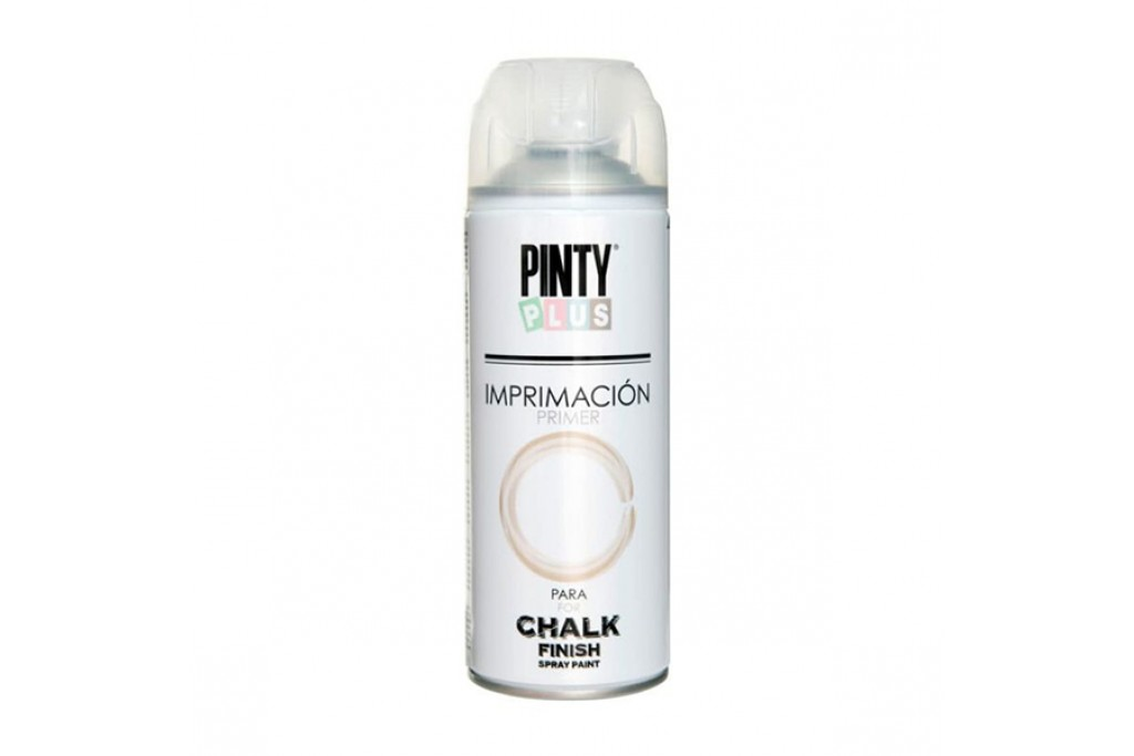 Грунт аэрозоль матовый Pinty Plus Chalk finish Белый 400 мл