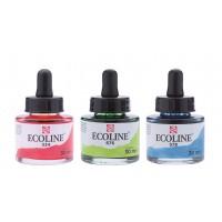 Краска акварельная с пипеткой Ecoline 30мл