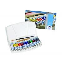 Набор акварельных красок Van Gogh 12цв.х10мл + кисть пластик