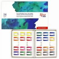 Набор акварельных красок Rosa Studio Watercolours 24цв. кювета картон