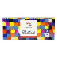 Набор масляных красок Rosa Studio 12 цветов по 20 мл