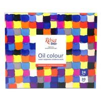 Набор масляных красок Rosa Studio 24 цвета по 20 мл
