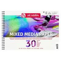 Альбом на пружине Mixed Media, A3 (29.7х42см), 250г/м.кв., 30л., Art Creation, Royal Talens