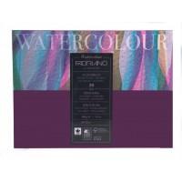 Склейка блок для акварели Fabriano Watercolor среднее зерно A4 (24х32см) 200 г/м2 20л.