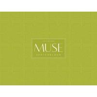 Альбом для эскиза MUSE Sketchblock A4+ 100г/м2 40л.