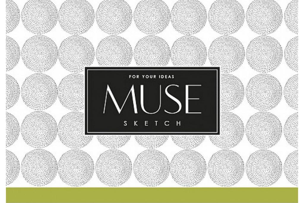 Альбом для эскиза MUSE Sketch A6 100г/м2 40 листов