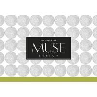 Альбом для эскиза MUSE Sketch A6 100г/м2 40л.