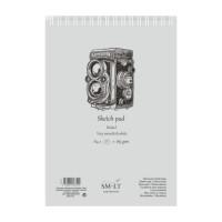 Альбом для графики Smiltainis Bristol A4 (21х29.7см) 185 г/м2 50 листов (4770644587545)