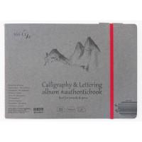 Альбом для каллиграфии Smiltainis Authentic Calligraphy А5 (24.5х17.6см) 100 г/м2 32 листа (4770644588672)