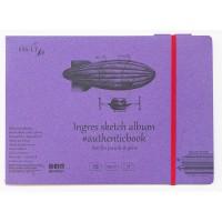 Альбом для графики Smiltainis Authentic Ingres А5 (24.5х17.6см) 130 г/м2 24 листа (4770644588603)
